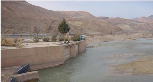 برقراری آب شرب و کشاورزی شهرستان گرمسار پس از سیلاب اخیر