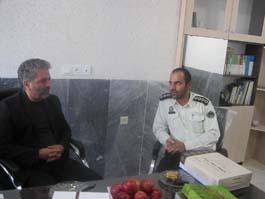 تجلیل از پرسنل نیروی انتظامی سرخه و لاسجرد توسط مدیر منابع آب شهرستان سمنان