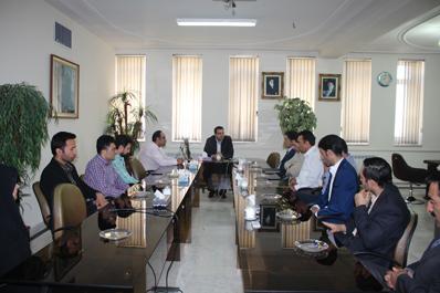 دیدار نوروزی مدیرعامل شرکت آب منطقه ای سمنان با کارکنان شرکت
